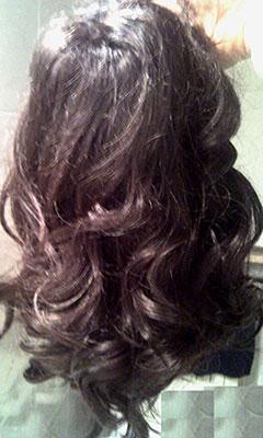 Maschera per capelli con amminoacidi e keratins